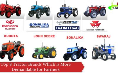 Top 8 Tractor Brands Which is More Demandable for Farmers