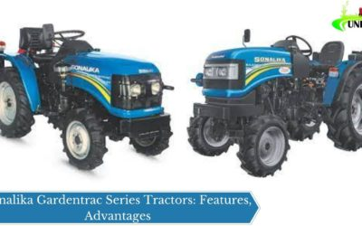 Sonalika Gardentrac Series Tractors: Features, Advantages