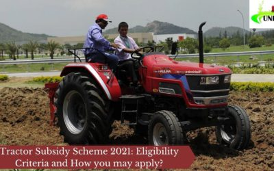 Tractor Subsidy Scheme 2021: Eligibility Criteria and How you may apply?
