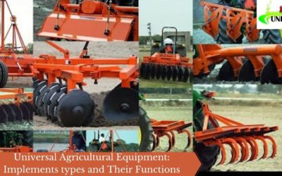 Universal Agricultural Equipment: Implements types and Their Functions