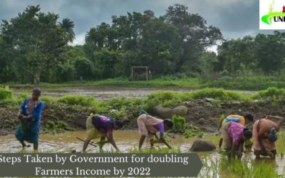 Steps Taken by Government for doubling Farmers Income by 2022