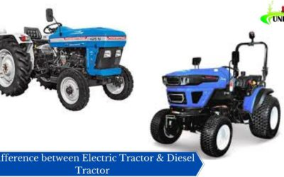Difference between Electric Tractor & Diesel Tractor
